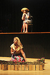 "Guiding Light's Cynthia Watros and Tina Sloan star in ""Breathing Under Dirt"" - full play - had its world premier on August 13 and 14, 2016 at the Ella Fitzgerald Performing Arts Center, University of Maryland Eastern Shore, Princess Anne, Maryland  (Photo by Sue Coflin/Max Photos)"