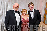 James, Kitty and Francis Meehan attending the Causeway Community Action Group  Oskars fundraiser  in the Ballyroe Heights Hotel on Friday.