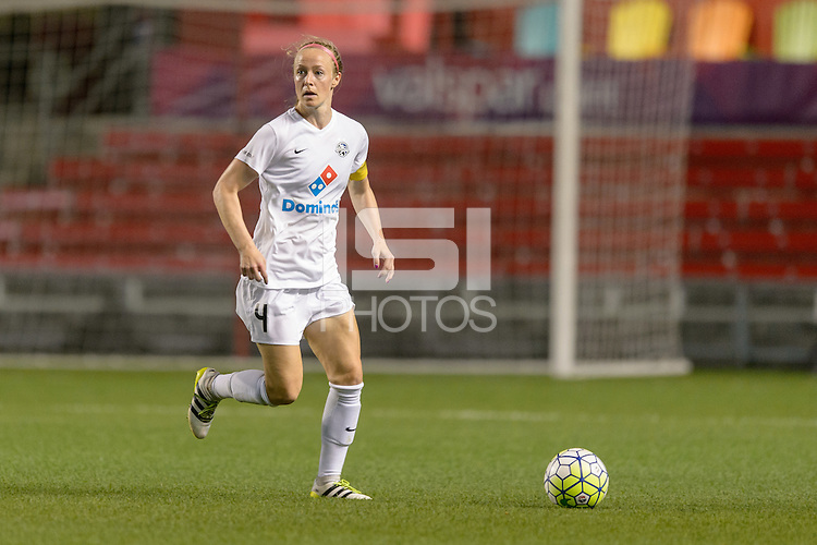Chicago, IL - Wednesday Sept. 07, 2016: Becky Sauerbrunn during a regular season National Women's Soccer League (NWSL) match between the Chicago Red Stars and FC Kansas City at Toyota Park.