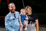 Oran and JP Enright and Katie Carmody at the playground in the Killarney National Park on Sunday.