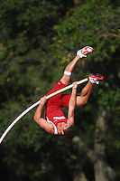 4 May 2008: Stanford Cardinal Ben Dickens during Stanford's Payton Jordan Cardinal Invitational at Cobb Track & Angell Field in Stanford, CA.