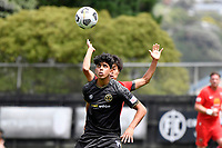 Haris Zeb of Team Wellington during the ISPS Handa Men's Premiership - Team Wellington v Canterbury Utd at David Farrington Park, Wellington on Saturday 19 December 2020.<br /> Copyright photo: Masanori Udagawa /  www.photosport.nz