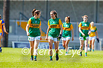 Anna Galvin, Kerry and Ciara Murphy, Kerry in the Lidl Ladies National Football League Division 2A Round 2 at Austin Stack Park, Tralee on Sunday.
