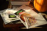 Vegetable seed storage
