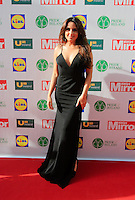 19/05/2015 <br /> Nadia Forde <br /> during the Irish mirror pride of Ireland awards at the mansion house, Dublin.<br /> Photo: gareth chaney Collins
