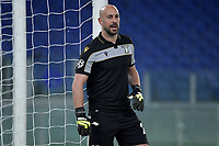 Manuel Jose Pepe Reina of SS Lazio reacts during the Champions League round of 16 football match between SS Lazio and Bayern Munchen at stadio Olimpico in Rome (Italy), February, 23th, 2021. Photo Andrea Staccioli / Insidefoto