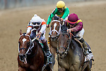 JUNE 6, 2015: March, ridden by Irad Ortiz Jr., wins the the 31st running of the Woody Stephens Stakes at Belmont Park in New York, NY. Jon Durr/ESW/CSM