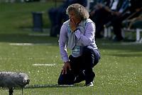 BOGOTA - COLOMBIA, 13-02-2021: Alberto Gamero, tecnico de Millonarios F. C., durante partido entre La Equidad y Millonarios F. C., de la fecha 6 por la Liga BetPlay DIMAYOR I 2021, jugado en el estadio Metropolitano de Techo en la ciudad de Bogota.  / Alberto Gamero, coach of Millonarios F. C., during a match between La Equidad and Millonarios F. C., 6th date for BetPlay DIMAYOR I 2021 League at the Metropolitano de Techo stadium in Bogota city. / Photo: VizzorImage / Daniel Garzon / Cont.