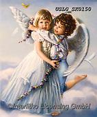 CHILDREN, KINDER, NIÑOS, paintings+++++,USLGSK0150,#K#, EVERYDAY ,Sandra Kock, victorian ,angels