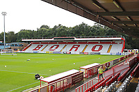 General view of the ground during Stevenage vs Exeter City, Sky Bet EFL League 2 Football at the Lamex Stadium on 24th September 2016