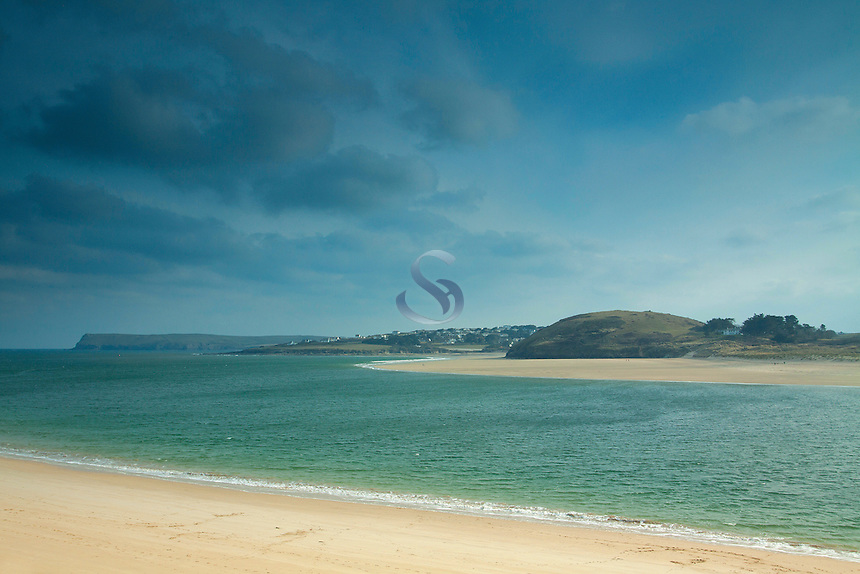 New Polzeath across the Camel Estuary from Padstow