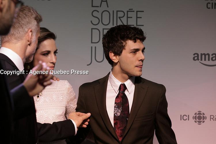 Tapis rouge de la soiree des Jutras<br /> , le 15 mars 2015<br /> <br /> PHOTO :   Agence Quebec Presse