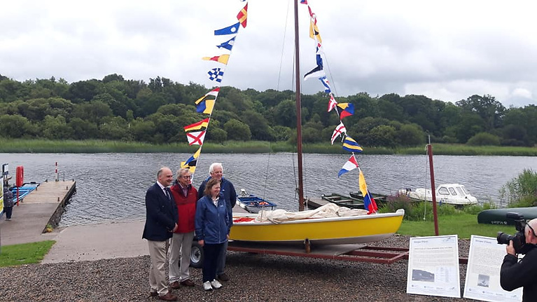The Snipe Class Dinghy Ranger Sails Again on Lough Erne