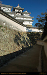 Himeji Castle Ni Gate second water gate Approach defenses Tamon Nagaya long roofed corridor Shirasagi-jo White Heron Castle Himeji Japan