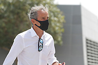 26th March 2021; Sakhir, Bahrain; F1 Grand Prix of Bahrain, Free Practice sessions;  PROST Alain (fra), Non Executive Director of Alpine F1 Team during Formula 1 Gulf Air Bahrain Grand Prix