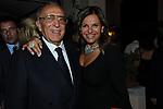 ELENA BONELLI  E ADRIANO CERASI<br /> PARTY DI PAOLO PAZZAGLIA<br /> PALAZZO FERRAJOLI ROMA 2010