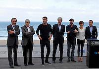 "Actor Arturo Vals and director Juan Jose Campanella present their new film ""Futbolin"" during the 61 San Sebastian Film Festival, in San Sebastian, Spain. September 20, 2013. (ALTERPHOTOS/Victor Blanco) /NortePhoto"