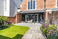 BNPS.co.uk (01202) 558833. <br /> Pic: LuxuryAndPrestige/BNPS<br /> <br /> A heavenly converted chapel that has been transformed into a contemporary home is on the market for £1.5m.<br /> <br /> The Old Chapel was used by an order of nuns for 139 years before the humble church got a stylish upgrade into a four-bedroom property.<br /> <br /> The Grade II listed building has been carefully restored to retain stunning ecclesiastical features like windows, archways and doors, but with a modern twist.<br /> <br /> And although the owner bought it from the developer before it was finished, the stunning home has never been lived in.