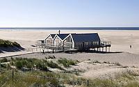 Nederland Texel 2015. Strandtent Faro2 bij De Cocksdorp op Texel