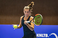 Alphen aan den Rijn, Netherlands, December 18, 2019, TV Nieuwe Sloot,  NK Tennis, Woman's singles:  Quirine Lemoine (NED)<br /> Photo: www.tennisimages.com/Henk Koster