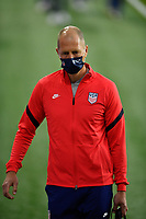 ORLANDO CITY, FL - JANUARY 31: Gregg Berhalter head coach of the United States before a game between Trinidad and Tobago and USMNT at Exploria stadium on January 31, 2021 in Orlando City, Florida.