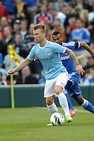 Albert Rusnak Manchester City in action..Manchester City defeated Chelsea 4-3 in an international friendly at Busch Stadium, St Louis, Missouri.