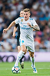 Toni Kroos of Real Madrid in action during their La Liga 2017-18 match between Real Madrid and Valencia CF at the Estadio Santiago Bernabeu on 27 August 2017 in Madrid, Spain. Photo by Diego Gonzalez / Power Sport Images