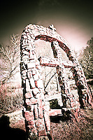 Cross Arch - Chimayo - New Mexico <br /> © 2012 Cheyenne L Rouse/All rights reserved