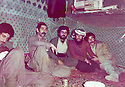 Iraq 1983 .Peshmergas in the base of Kurdistan Socialist Democratic Party in Surien .Irak 1983 .Peshmergas du parti socailiste democratique du Kurdistan dans la base de Surien