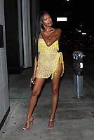 Jessica White Arrives To Catch In West Hollywood