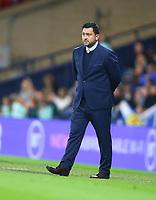 21st September 2021; Hampden Park, Glasgow, Scotland: FIFA Womens World Cup qualifying, Scotland versus Faroe Islands; Scotland Manager Pedro Martinez Losa