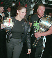 Stephanie McMahon & Triple H<br /> Photo By John Barrett/PHOTOlink