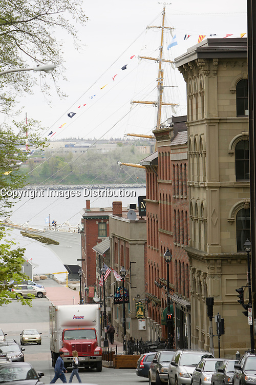 Halifax (NS) CANADA, June 1, 2007 -<br /> <br /> View of an Old ship in Halifax harbour.<br /> <br />     photo by Pierre Roussel - Images Distribution
