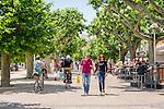France, Provence-Alpes-Côte d'Azur, Cannes: walk at Promenade de la Pantiero | Frankreich, Provence-Alpes-Côte d'Azur, Cannes: Stadtbummel auf der Promenade de la Pantiero