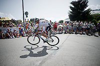 Warren Barguil (FRA/Giant-Alpecin)<br /> <br /> Stage 18 (ITT) - Sallanches › Megève (17km)<br /> 103rd Tour de France 2016