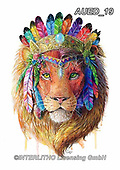 Carlie, REALISTIC ANIMALS, REALISTISCHE TIERE, ANIMALES REALISTICOS, paintings+++++Lion-Spirit-Animal,AUED19,#A#, EVERYDAY,lion,spirit ,fantasy