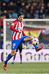 Stefan Savic of Atletico de Madrid in action during their Copa del Rey 2016-17 Quarter-final match between Atletico de Madrid and SD Eibar at the Vicente Calderón Stadium on 19 January 2017 in Madrid, Spain. Photo by Diego Gonzalez Souto / Power Sport Images
