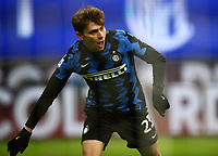 Calcio, Serie A: Inter Milano - Juventus FC , Giuseppe Meazza (San Siro) stadium, in Milan, January 17, 2021.<br /> Inter's Nicolò Barella celebrates after scoring during the Italian Serie A football match between Inter and juventus at Giuseppe Meazza (San Siro) stadium, January 17,  2021.<br /> UPDATE IMAGES PRESS/Isabella Bonotto