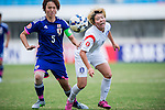 Japan vs Korea Republic during the AFC U-19 Women's Championship China Semi Finals match at the Jiangning Sports Centre Stadium on 26 August 2015 in Nanjing, China. Photo by Aitor Alcalde / Power Sport Images
