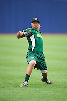 Lynchburg Hillcats pitcher Justus Sheffield (41) during practice before a game against the Wilmington Blue Rocks on June 3, 2016 at Judy Johnson Field at Daniel S. Frawley Stadium in Wilmington, Delaware.  Lynchburg defeated Wilmington 16-11 in ten innings.  (Mike Janes/Four Seam Images)