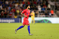 ORLANDO, FL - NOVEMBER 15: DeAndre Yedlin #2 of the United States enters the match during a game between Canada and USMNT at Exploria Stadium on November 15, 2019 in Orlando, Florida.