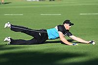 20th December 2020; Hamilton, New Zealand;  Martin Guptill warming up, <br /> New Zealand Black Caps versus Pakistan, International Twenty20 Cricket. Seddon Park, Hamilton, New Zealand.