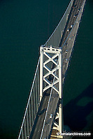 aerial photograph of San Francisco Oakland Bay Bridge
