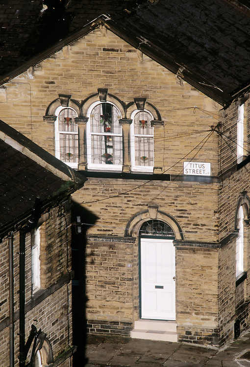 Credit line is mandatory : ©John Angerson<br /> Saltaire, West Yorkshire