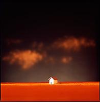 Small house on horizon<br />