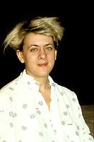 Alice Ronfard, 10 mars 1988<br /> <br /> PHOTO : Agence Quebec Presse