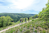 France, Cote d'Or, Val Suzon  Regional Natural Reserve, Messigny et Vantoux, Foret Domaniale de Val Suzon, hiking path // France, Côte d'Or (21), réserve Naturelle Régionale du Val-Suzon, Messigny-et-Vantoux, forêt domaniale de Val-Suzon, sentier de randonnée