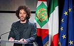 Italy, on January 25, 2020. Italy President, Sergio Mattarella in Trentino for Chiara Lubich.