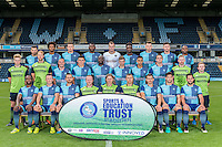 Squad Photo during the Wycombe Wanderers 2016/17 Team & Individual Squad Photos at Adams Park, High Wycombe, England on 1 August 2016. Photo by Jeremy Nako.