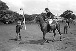 Prince Charles playing Polo at Cowdray Park Polo Club ground West Sussex 1980s. Uk
